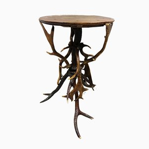 Antlers Side Table, 1920s