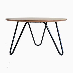 No 34 Coffee Table by Jacques Hitier for Tubauto, 1950s