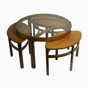 Mesas nido modelo Trinity 5614 de Nathan Furniture, años 60