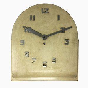 Art Deco French Parchment Wall Clock, 1930s
