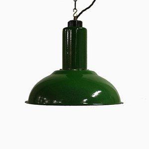 Mid-Century Russian Industrial Pendant Light