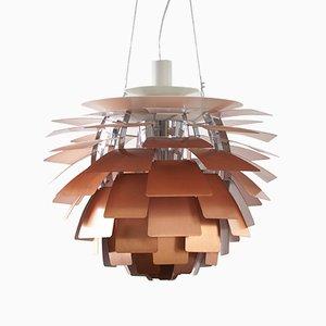 Lampe à Suspension Artichoke en Cuivre par Poul Henningsen pour Louis Poulsen, 1980s