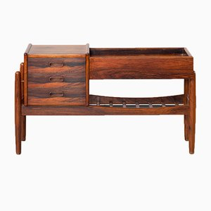 Rosewood Commode by Arne Wahl Iversen for Vamø, 1960s