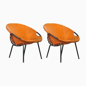 Side Chairs, 1960s, Set of 2