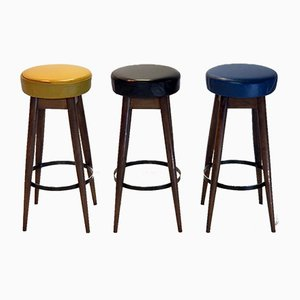 Stools, 1950s, Set of 3