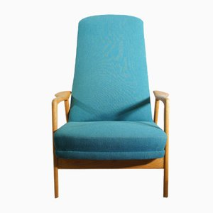 Duxiesta Easy Chair by Alf Svensson & Folke Olsson for Dux, 1950s