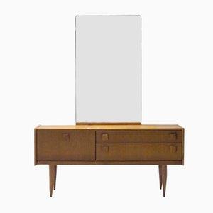 Frisiertisch mit großem Spiegel, 1960er