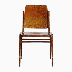 Chaise Forum Stadtpark Vintage en Contreplaqué par Franz Schuster pour Wiesner-Hager, 1960s