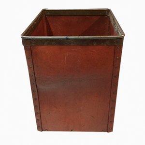 Contenitore in cartone e metallo di Suroy, anni '20