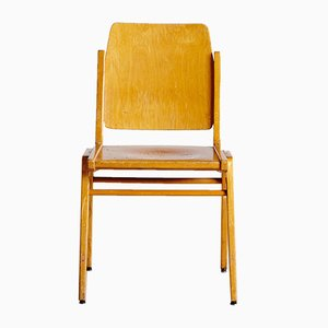 Vintage Plywood Forum Stadtpark Chair by Franz Schuster for Wiesner-Hager