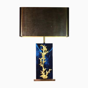 Model Algae Table Lamp from Maison Charles, 1970s