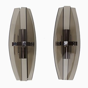 Italian Wall Sconces from Veca, 1960s, Set of 2