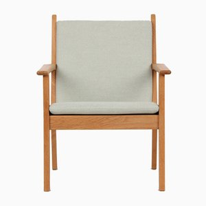 Vintage Danish GE284 Easy Chair by Hans J. Wegner for Getama