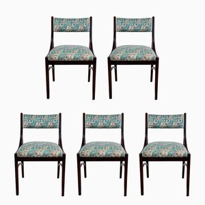 Side Chairs by Ico & Luisa Parisi for Spartaco Brugnoli, 1950s, Set of 5