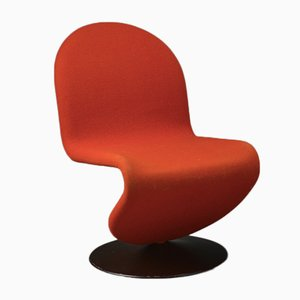 System 123 Lounge Chair by Verner Panton for Fritz Hansen, 1973