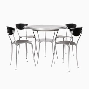 Vintage Odeon Dining Set by Claudio Feltrin for Arper
