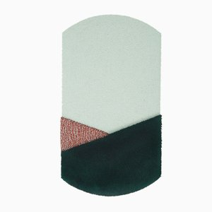 Medium CN Green/Brick Oci Rug by Seraina Lareida for Portego