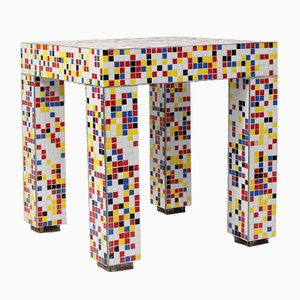 Vintage Bisazza Side Table by Alessandro Mendini