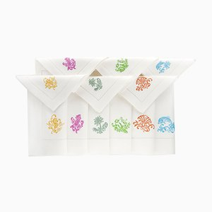 Serviettes & Sets de Table de Style Mer par The NapKing pour Bellavia Ricami SPA, Set de 6