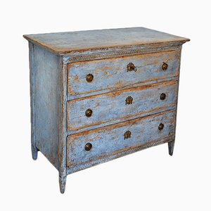 19th-Century Carved Gustavian Commode