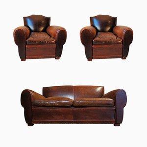 Club chair e divano antichi, Francia