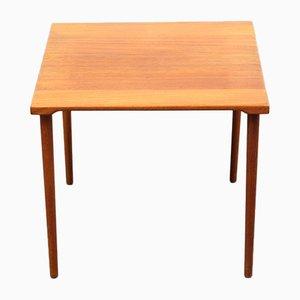 Table d'Appoint Mid-Century en Teck par Peter Hvidt & Orla Mølgaard-Nielsen pour France & Søn, 1960s