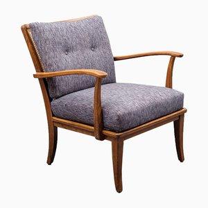 Sessel mit Bast, 1950er