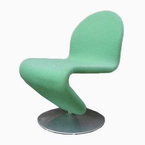 Stuhl aus 1-2-3 Serie von Verner Panton für Fritz Hansen, 1970er