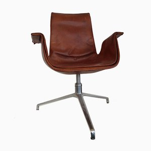 Vintage Tulip Swivel Chair by Fabricius & Kastholm for Kill International