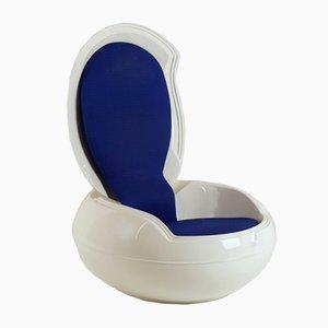 Chaise de Jardin Egg par Peter Ghyczy, 1960s