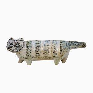 Stoneware Cat by Lisa Larson for Gustavsberg, 1950s