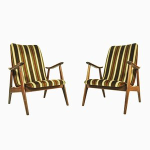 Armchairs by Louis van Teeffelen, 1960s, Set of 2