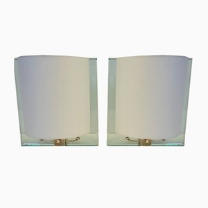 Vintage Wall Lamps by Nathalie Grenon for Fontana Arte, Set of 2