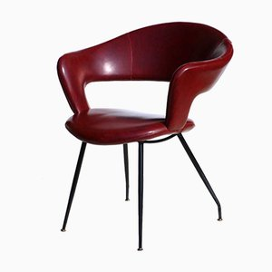 Italian Side Chair by Gastone Rinaldi by Rima, 1950s