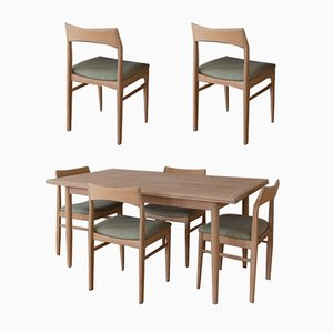 Vintage Dining Table by Henning Kiaernulf for Vejle Mobelfabrik