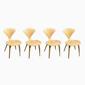 Pretzel Chairs by Norman Cherner for Playcraft, 1960s, Set of 4