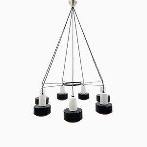 Lámpara de araña de iglesia minimalista Mid-Century extra grande, años 60