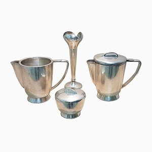 Vintage 4-Piece Breakfast Set by Gio Ponti for Fratelli Calderoni