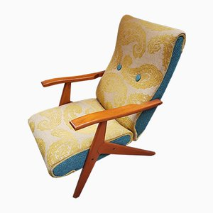 Reclining Lounge Chair by Gorgone Antonio, 1950s