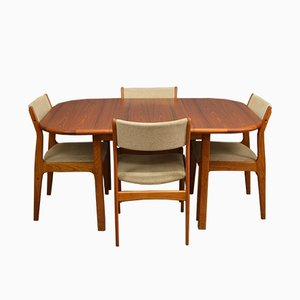 Mid-Century Danish Teak Dining Set from D-Scan