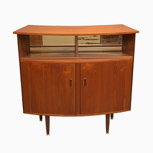 Mobile bar Mid-Century in teak
