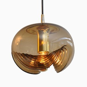 Wave Pendant Lamp from Peill & Putzler, 1972
