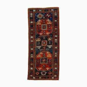 Antiker kasachischer handgeknüpfter Chajli Teppich