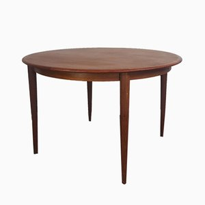 Mid-Century Danish Extendable Teak Dining Table from Skovmand & Andersen
