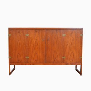 BM 57 Teak Sideboard by Borge Mogensen for P. Lauritsen & Søn, 1950s