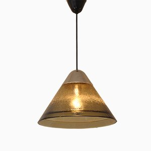 Brass and Chrome Pendant Lamp from Peill & Putzler, 1972
