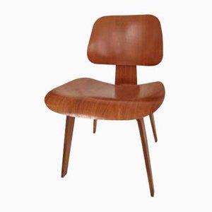 Sedia da pranzo DCW vintage di Charles & Ray Eames per Vitra