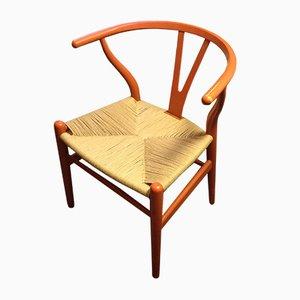 Vintage CH24 Wishbone Chair von Hans Wegner für Carl Hansen