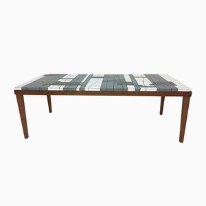 Glass Mosaic Coffee Table by Heinz Lilienthal, 1960s