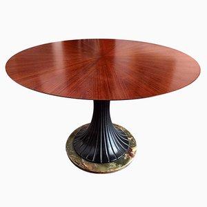 Tavolo da pranzo in palissandro di Vittorio Dassi per Dassi Lissone, Italia, anni '50